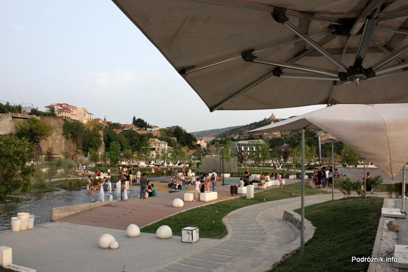 Gruzja - Tbilisi - sierpień 2012 - Park Europejski