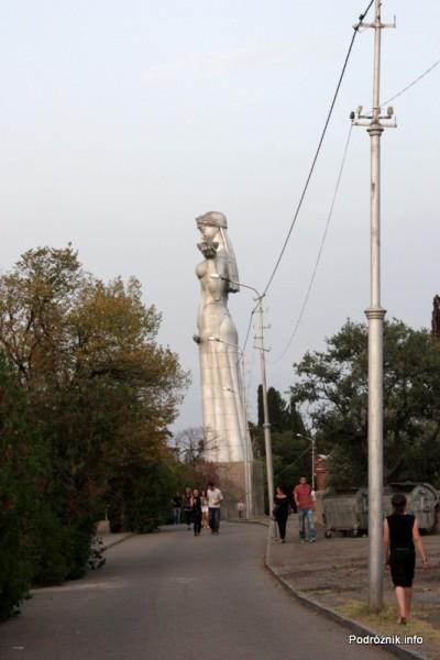 Gruzja - Tbilisi - sierpień 2012 - pomnik Matki Gruzji (Kartlis Deda)