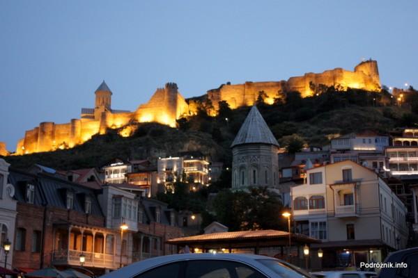 Gruzja - Tbilisi - sierpień 2012 - twierdza Narikała