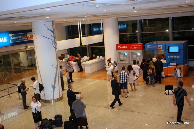 Erewan - Zvartnots International Airport - punkt wypisywania wniosków wizowych i wymiany walut