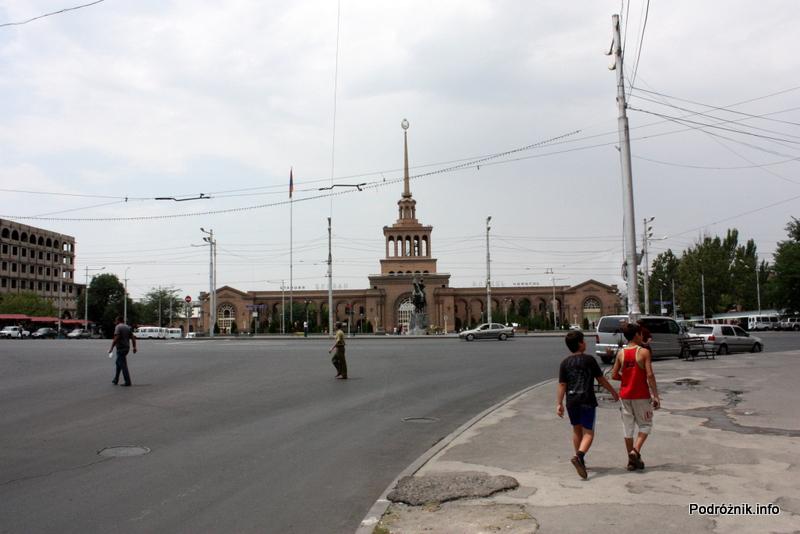 Armenia - Erewan - lipiec 2012 - główny dworzec kolejowy