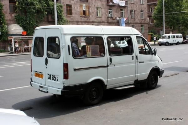 Armenia - Erewan - lipiec 2012 - marszrutka - transport miejski
