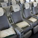 Alitalia - Boeing 777 - I-DISU - fotele w klasie ekonomicznej plus (Classica Plus - Premium Economy)