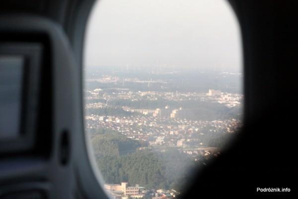 Alitalia - Boeing 777 - I-DISU - Japonia - widok z okna