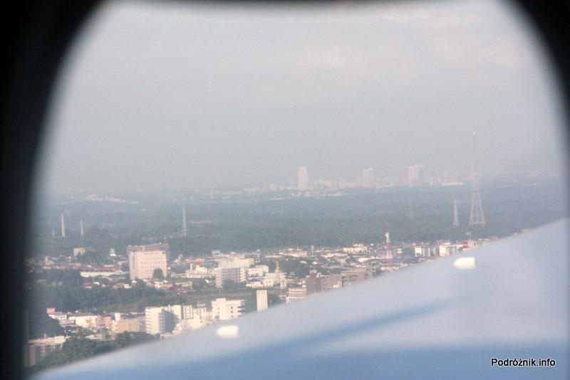 Alitalia - Boeing 777 - I-DISU - Japonia - widok z okna przed lądowaniem
