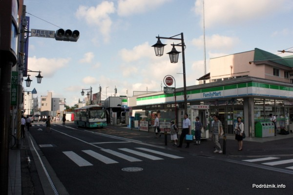 Japonia - Narita - jeden z większych sklepów w pobliżu dworca kolejowego i autobusowego - sierpień 2012