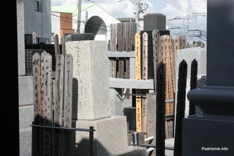 Japonia - Narita - cmentarz - sierpień 2012