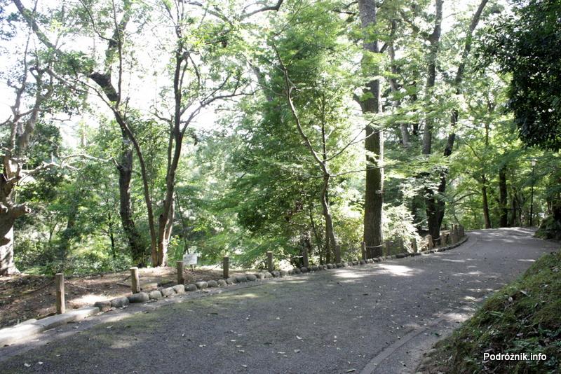 Japonia - Narita - ścieżka w parku niedaleko Naritasan-Shinshoji Temple - sierpień 2012
