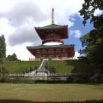 Japonia - Narita - okolice Naritasan-Shinshoji Temple - sierpień 2012