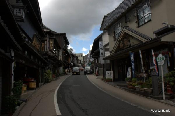 Japonia - Narita - ulica - sierpień 2012