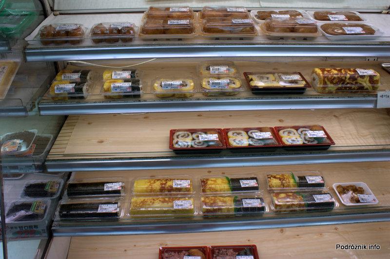 Japonia - Narita - zestawy sushi w sklepie - sierpień 2012