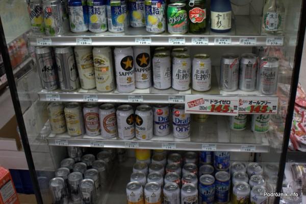 Japonia - Narita - lodówka z piwem - sierpień 2012