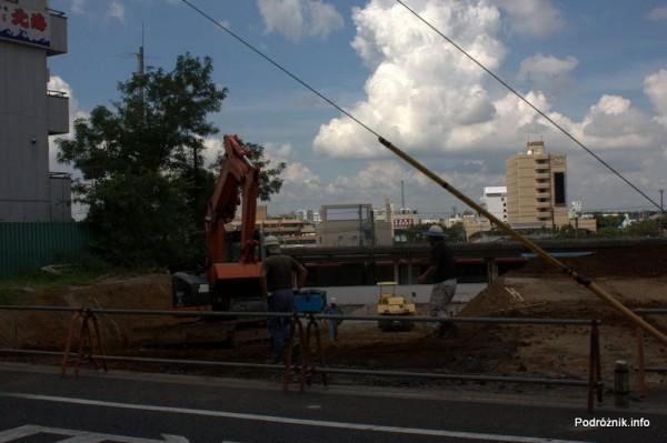 Japonia - Narita - budowa - sierpień 2012