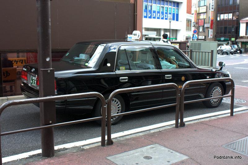 Japonia - Narita - taxi - sierpień 2012