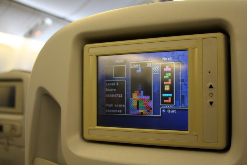 Alitalia - Boeing 777 - I-DISU - rozrywka na pokładzie