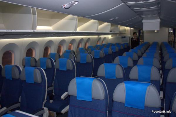 Polskie Linie Lotnicze LOT - Boeing 787 Dreamliner - SP-LRA - klasa ekonomiczna (Economy Club)