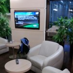 Polska - Warszawa - Lotnisko Chopina - LOT Business Lounge Polonez - grudzień 2012 - fotele i kanapy