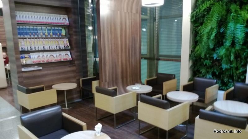 Polska - Warszawa - Lotnisko Chopina - LOT Business Lounge Polonez - grudzień 2012 - część na krótsze pobyty