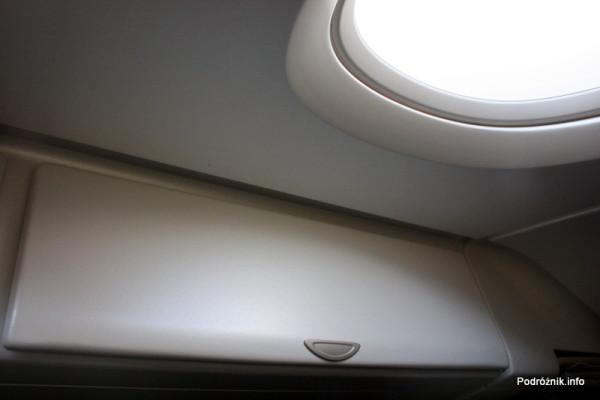 Air France - Airbus 380 - AF1980 - F-HPJB - zamknięty schowek pod oknem