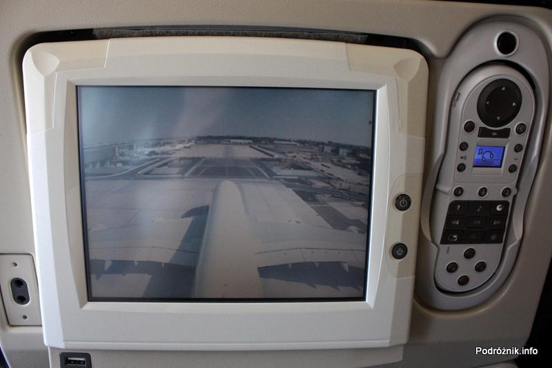 Air France - Airbus 380 - AF1980 - F-HPJB - widok z kamery na ogonie podczas kołowania na lotnisku Paryż Charles de Gaulle (CDG)