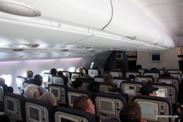 Air France - Airbus 380 - AF1980 - F-HPJB - klasa ekonomiczna na górnym pokładzie