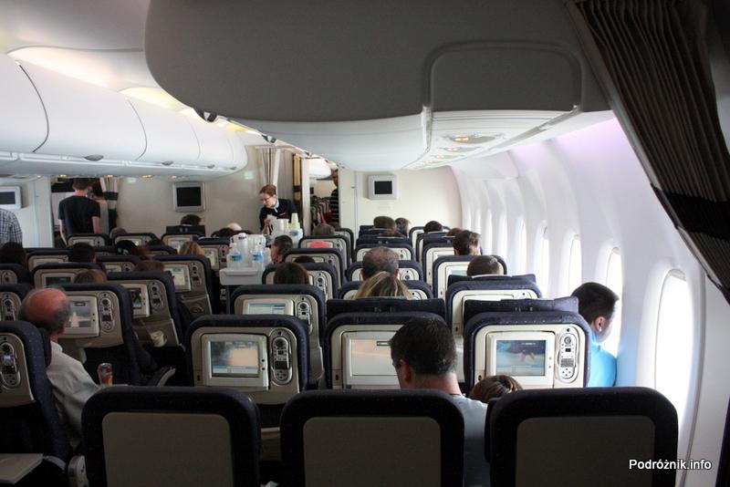 Air France - Airbus 380 - AF1980 - F-HPJB - klasa ekonomiczna dolny pokład (main deck)