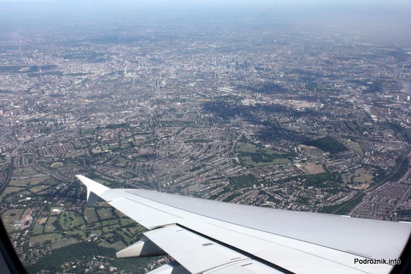Air France - Airbus 380 - AF1980 - F-HPJB - Londyn i okolice pod skrzydłem