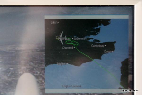 Air France - Airbus 380 - AF1980 - F-HPJB - wytracanie wysokości nad Londynem