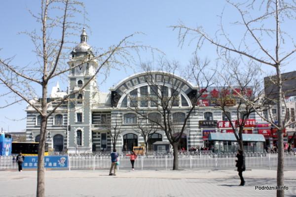 Chiny - Pekin - gmach Muzeum Kolejnictwa - kwiecień 2013
