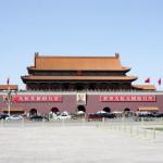Chiny - Pekin - wejście do Zakazanego Miasta - kwiecień 2013