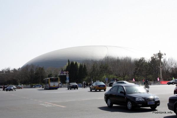 Chiny - Pekin - budynek National Centre for the Performing Arts  - kwiecień 2013