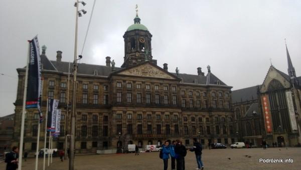 Holandia - Amsterdam - Pałac Królewski (Koninklijk Paleis) - kwiecień 2013