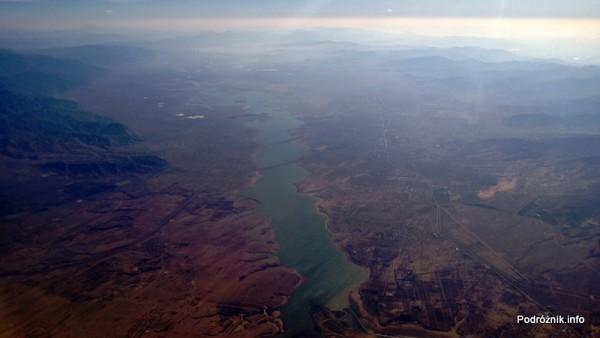 Chiny - rozlewisko widoczne z okna samolotu - kwiecień 2013
