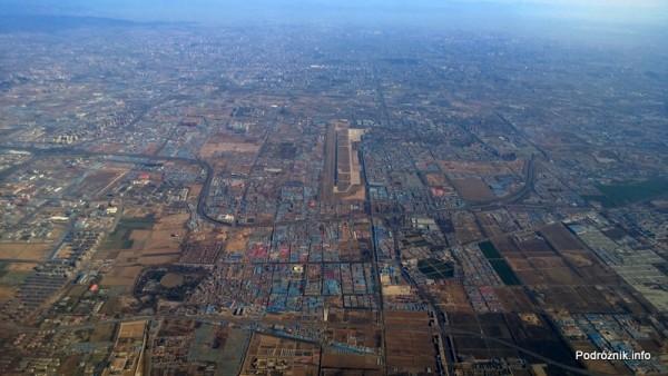 Chiny - małe lotnisko niedaleko Pekinu - kwiecień 2013