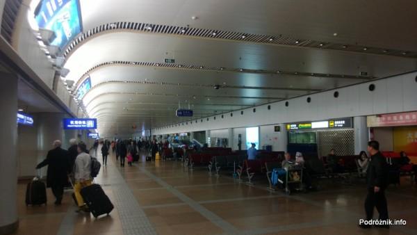 Chiny - Lotnisko w Pekinie - Beijing Capital International Airport - Terminal 2 - hala przylotów - kwiecień 2013