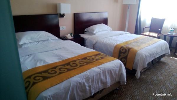 Chiny - Pekin - pokój typu twin bed - kwiecień 2013