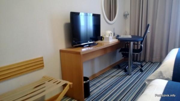 Chiny - Hotel Holiday Inn Express Shenzhen Luohu - pokój - kwiecień 2013