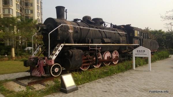 Chiny - Shenzhen - Splendid China Folk Village - lokomotywa - kwiecień 2013