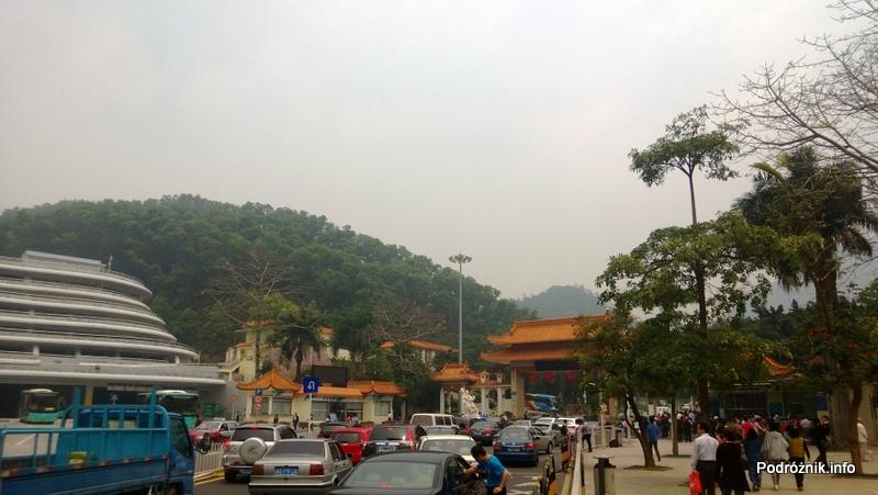 Chiny - Shenzhen - ogród botaniczny - brama wejściowa - kwiecień 2013