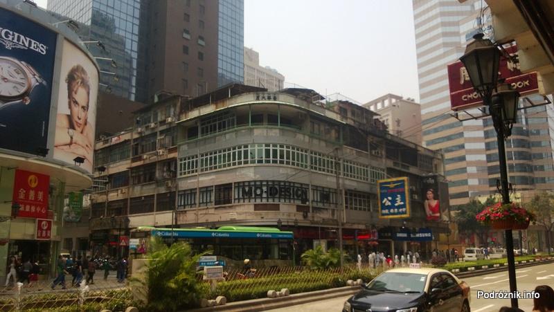 Chiny - Makao - budynki w centrum - kwiecień 2013