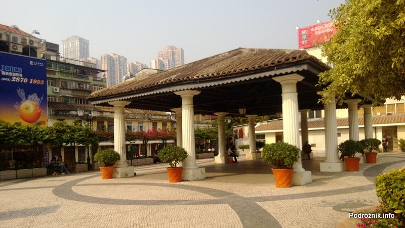 Chiny - Makao - Taipa - stary rynek - kwiecień 2013