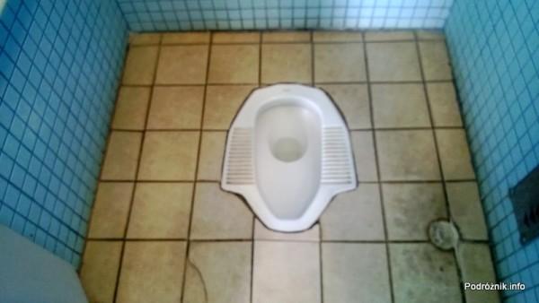 Chiny - Makao - Taipa - toaleta kucana - kwiecień 2013