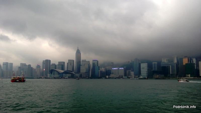 Chiny - Hongkong - Zatoka Wiktorii i panorama miasta - kwiecień 2013