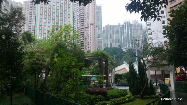 Chiny - Hongkong - okolice wejścia do ogrodu zoologicznego - kwiecień 2013