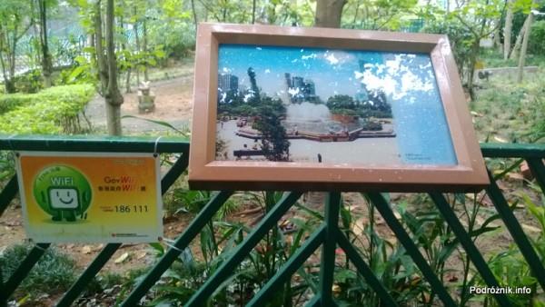 Chiny - Hongkong - ogród zoologiczny - informacja o darmowym Internecie i tym co możemy zobaczyć w okolicy - kwiecień 2013