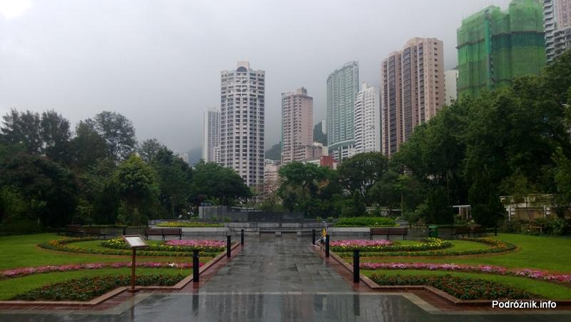 Chiny - Hongkong - ogród botaniczny - kwiecień 2013