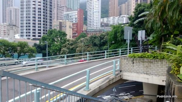 Chiny - Hongkong - przeplatające się różne poziomy drogi - kwiecień 2013