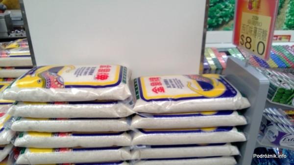 Chiny - Hongkong - ryż w dużych workach - kwiecień 2013