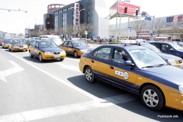 Chiny - Pekin - taksówki - kwiecień 2013