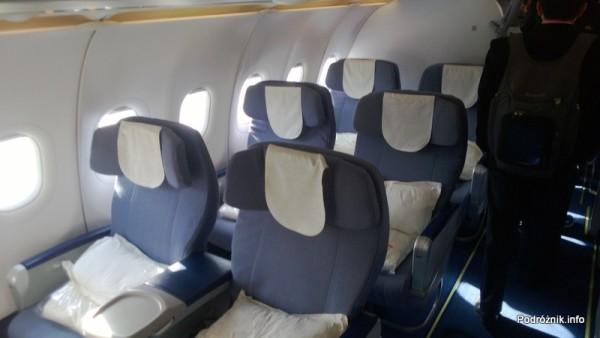 China Southern - Airbus 321 - CZ310 - B-6317 - Klasa pierwsza - First Class - kwiecień 2013